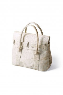 BAG - OLD JOE - EXCLUSIVE DISTRESSED LEATHER TINY MONEY BAG - BONE - Price 73,440 tax-in