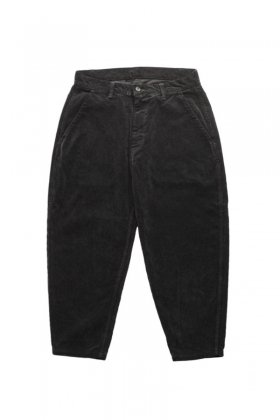 Porter Classic ★★★ - CORDUROY PANTS type 2012 MOLESKIN - BLACK