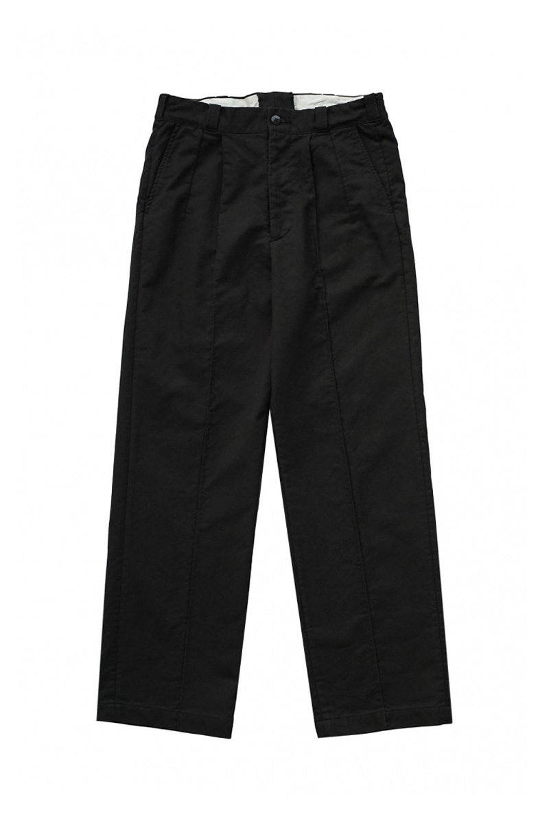 OLD JOE - FRONT TUCK ARMY TROUSER - GRAPHITE