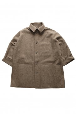 JACKET - toogood - THE DOORMAN JACKET - FELT - MUD - Price 185,760 tax-in