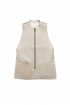 VEST - toogood - THE ANTIQUE DEALER GILET - FELT - SAND- Price 113,400 tax-in