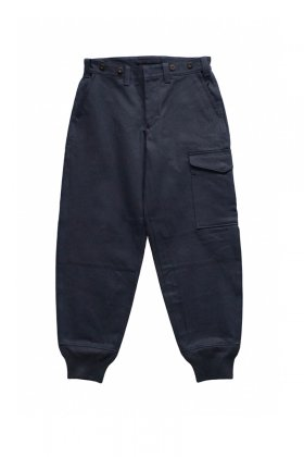Nigel Cabourn - TOMMY'S PANT VINTAGE TWILL - DARK NAVY