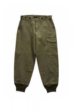 Nigel Cabourn - TOMMY'S PANT VINTAGE TWILL - GREEN