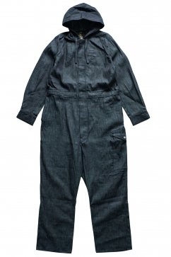NIGEL CABOURN - LYBRO FOUL WEATHER COVERALL - INDIGO