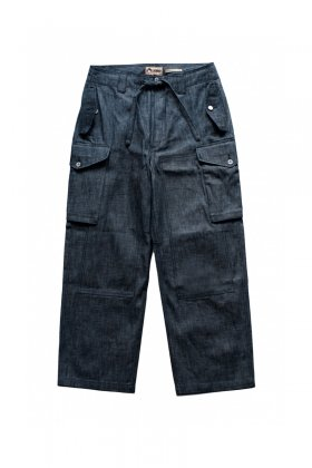 PANTS - Nigel Cabourn - LYBRO DRAWSTRING PANTS - INDIGO - Price 30,240 tax-in