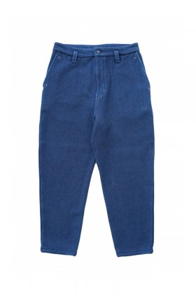 Porter Classic - KENDO STUDDED SOFT SIDE PANTS - BLUE