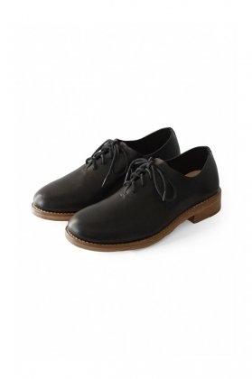 SHOES - FEIT - HAND SEWN OXFORD - BLACK - Price 87,480 tax-in