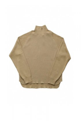 TOPS - OLD JOE - HONEYCOMB WUFFLE MOCK-NECK SHIRTS - SMOKE - Price 28,080 tax-in