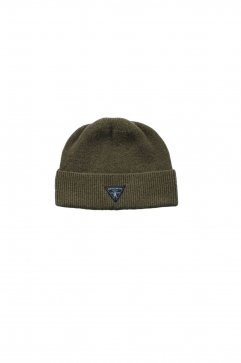 Nigel Cabourn - BEANIE WASHABLE WOOL - KHAKI