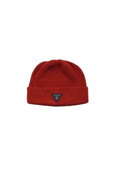 Nigel Cabourn - BEANIE WASHABLE WOOL - ORANGE