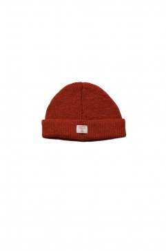 Nigel Cabourn - BEANIE - DARK ORANGE