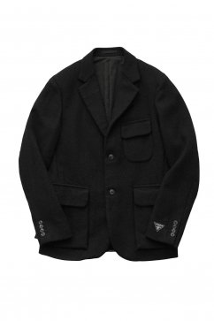 JACKET - Nigel Cabourn - MODIFIED MALLORY JACKET WASHABLE WOOL - BLACK - Price 84,240 tax-in