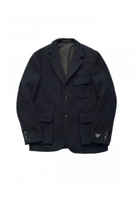 Nigel Cabourn - MODIFIED MALLORY JACKET WASHABLE WOOL - DARK NAVY