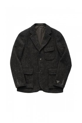 Nigel Cabourn - MODIFIED MALLORY JACKET TWEED - GRAY