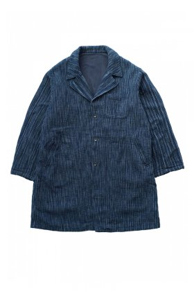 COAT - Porter Classic - KASURI COAT - INDIGO - Price 108,000 tax-in