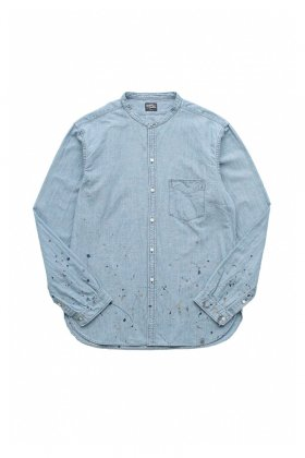 OLD JOE - CHAMBRAY / C-SHIRT . LS - INDIGO