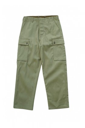 Nigel Cabourn - 5 POCKET MONKEY PANT - OLIVE
