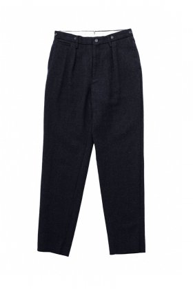 Nigel Cabourn - MEDICAL PANT WASHABLE WOOL - DARK NAVY