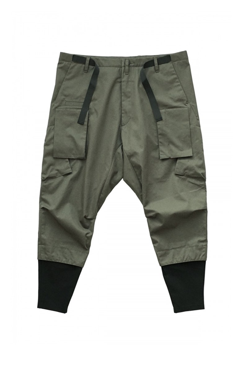 ACRONYM - P23A-S / HD COTTON CARGO DRAWCORD TROUSER RAF GREEN
