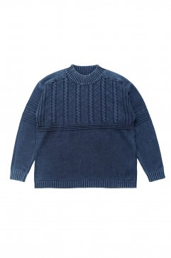 Porter Classic - FISHERMAN KNIT 2018 - BLUE