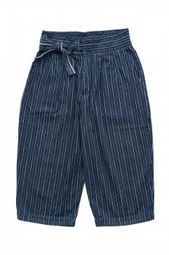 Porter Classic ★★★ - HAWAIIAN DENIM CHINESE PANTS - BLUE