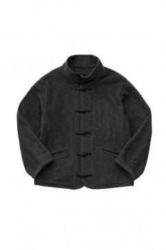 Porter Classic - CASHMERE CHINESE JACKET - GRAY