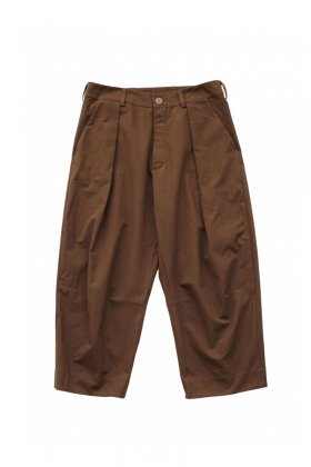 toogood - THE TINKER TROUSER - DYED CALICO MW - PEAT