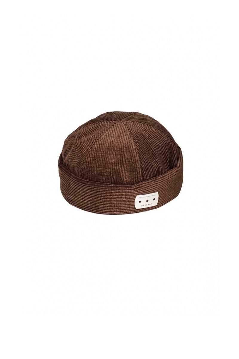 OLD JOE - SIX PANEL ROLL CAP - COFFEE