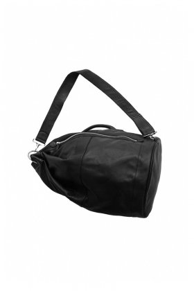 OLD JOE ★★★ - EXCLUSIVE LEATHER DUFFLE BAG M - BLACK