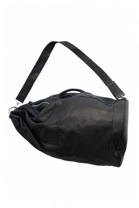 OLD JOE ★★★ - EXCLUSIVE LEATHER DUFFLE BAG L - BLACK