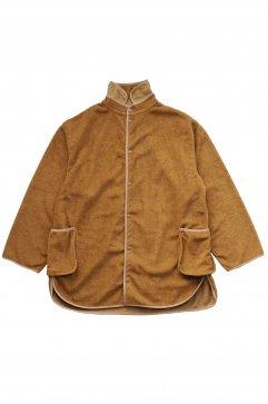 Porter Classic ★★★ - FLEECE SHIRT JACKET COAT - LIGHT BROWN