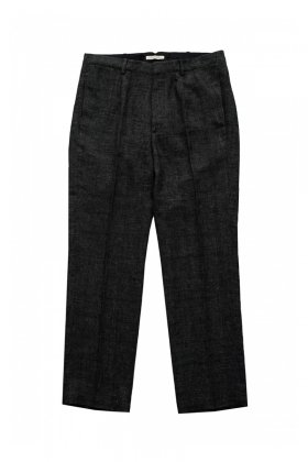 OLD JOE - ARTISAN SACK TROUSER - GLEN CHECK GRAPHITE