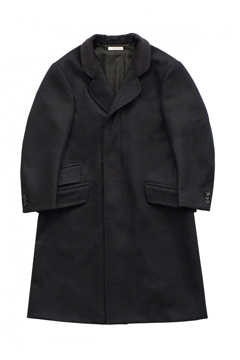 OLD JOE - CRONBIE COAT - BLACK NAVY
