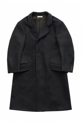 OLD JOE - CRONBIE COAT - BLACK NAVY