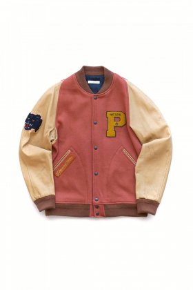 OLD JOE ★★★ - EXCLUSIVE VARCITY JACKET - ORANGE