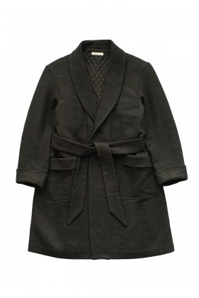 OLD JOE - BELTED SMOKING COAT - FRENCH TWILL
