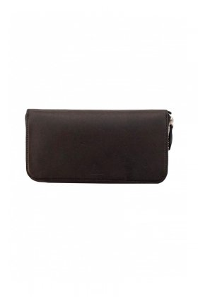OLD JOE - LONG ZIP WALLET - BLACK