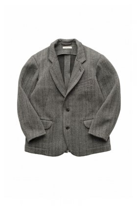 OLD JOE ★★★ - EXCLUSIVE ARTISAN SACK JACKET - OATMEAL HERRINGBONE