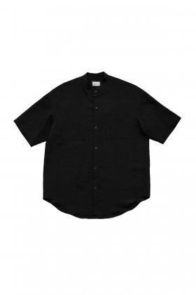 humoresque★★★ - Exclusive MEN'S STAND COLLAR SHIRT - BLACK