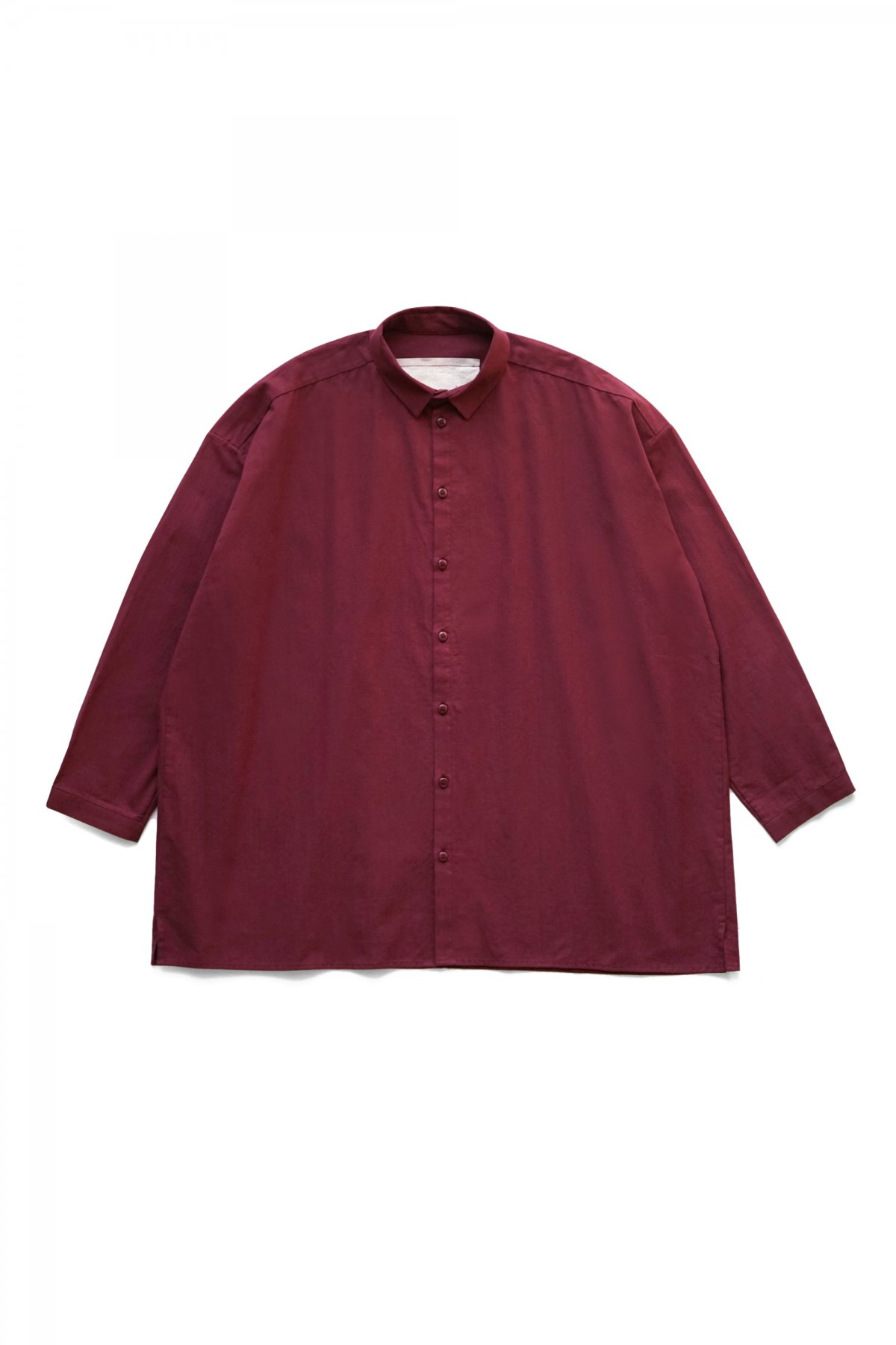 toogood - THE DRAUGHTSMAN SHIRT LONG - CALICO LW - MADDER