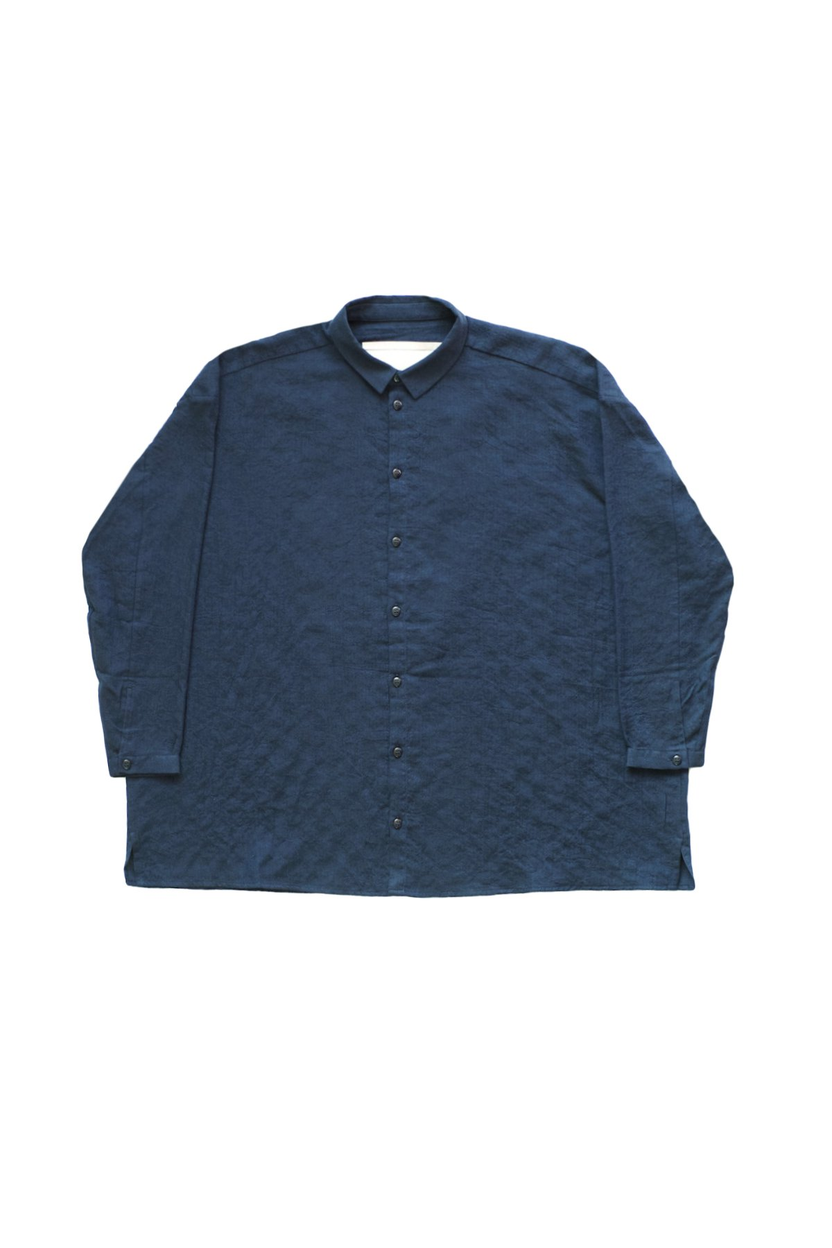 toogood - THE DRAUGHTSMAN SHIRT LONG - SOFT COTTON SHIRTING  INK - PRICE  71,500 tax-in