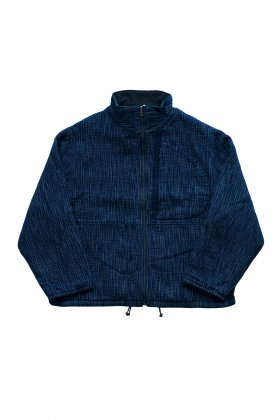 Porter Classic - KASURI ZIP UP OUTDOOR JACKET - INDIGO