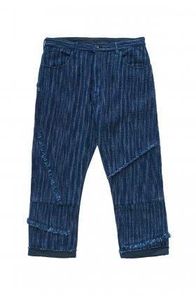 Porter Classic - KASURI BEAT PANTS - INDIGO