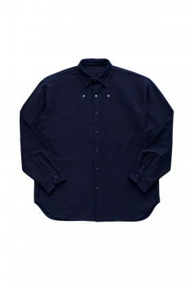 Porter Classic - STRETCH SHIRT - NAVY