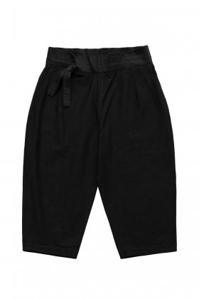 Porter Classic - STRETCH CHINESE PANTS - BLACK