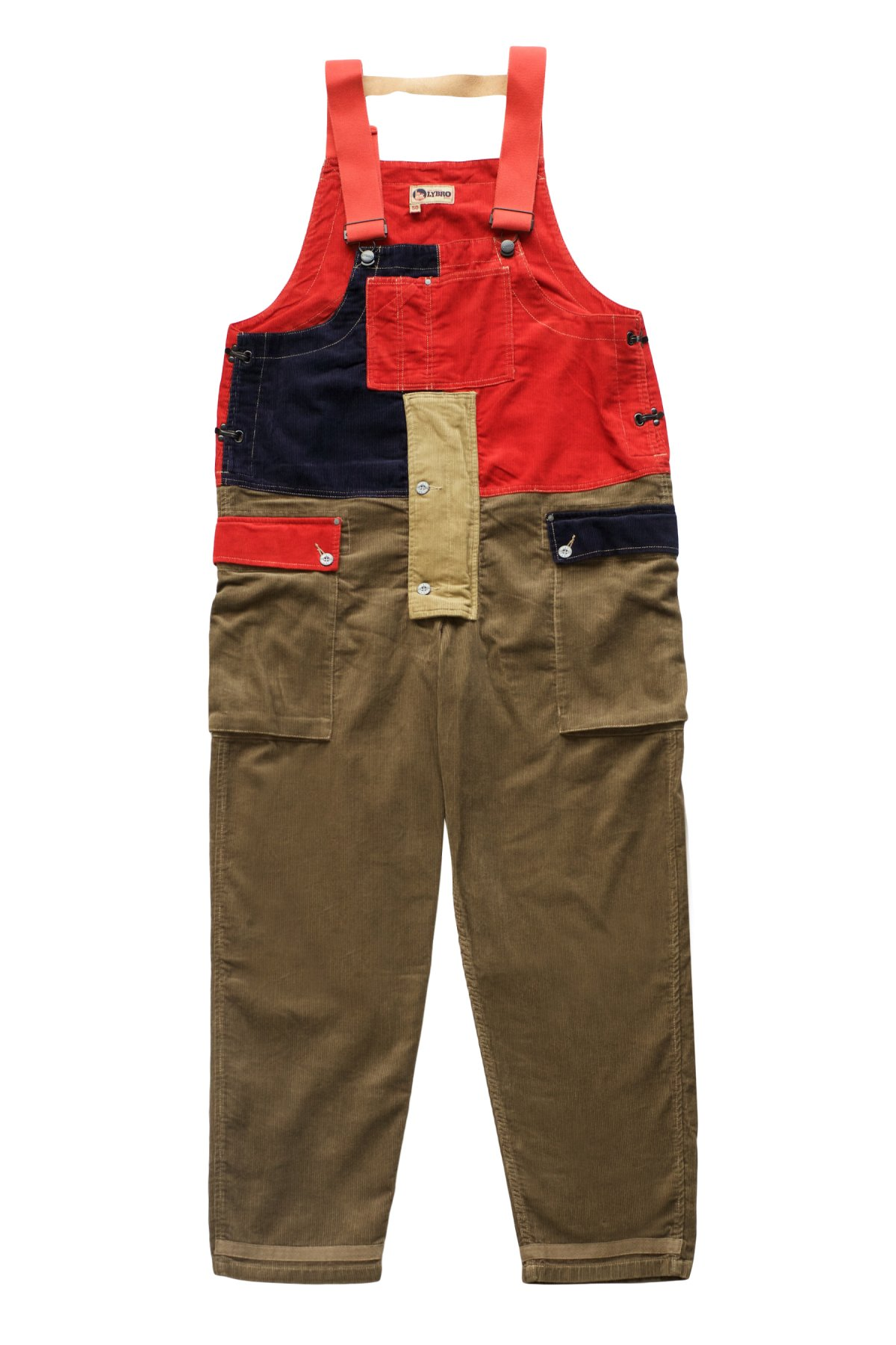 Nigel Cabourn -  LYBRO CRAZY NAVAL DUNGAREE - MIX PRICE 46,200 tax-in