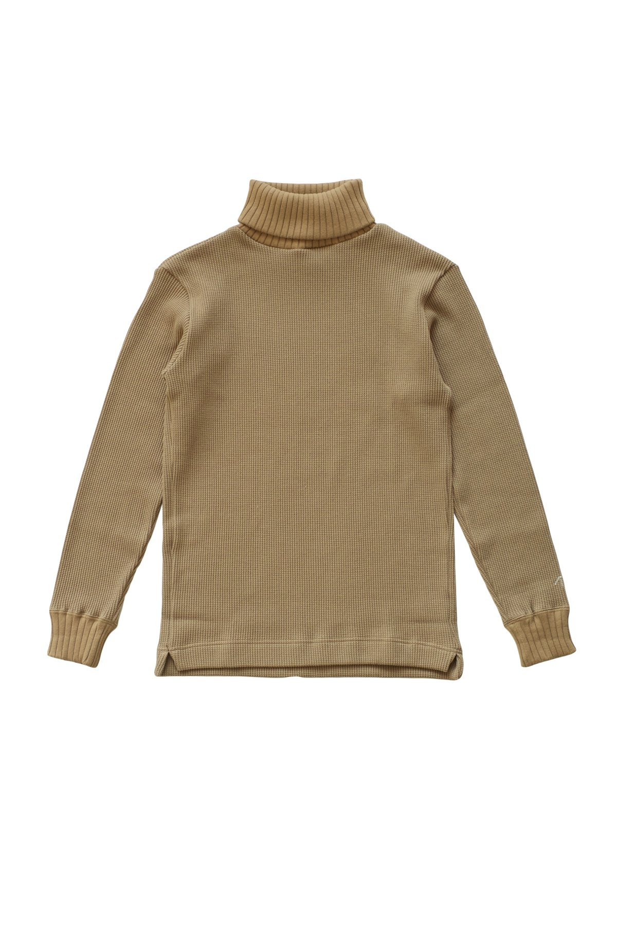 - Nigel Cabourn - TURTLE NECK WAFFLE - CAMEL - PRICE 16,500 tax-in