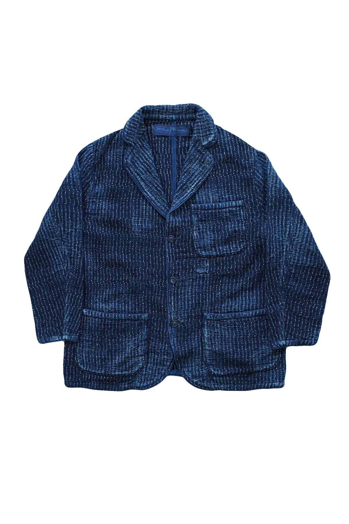 - Porter Classic ★★★ - SASHIKO LIGHT TAILORED JACKET - BLUE - PRICE  110,000 tax-in