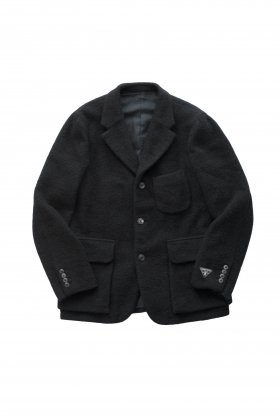 Nigel Cabourn - MODIFIED MALLORY JACKET WASHABLE WOOL - BLACK