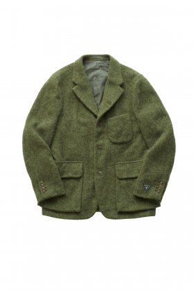 Nigel Cabourn - MODIFIED MALLORY JACKET WASHABLE WOOL - OLIVE